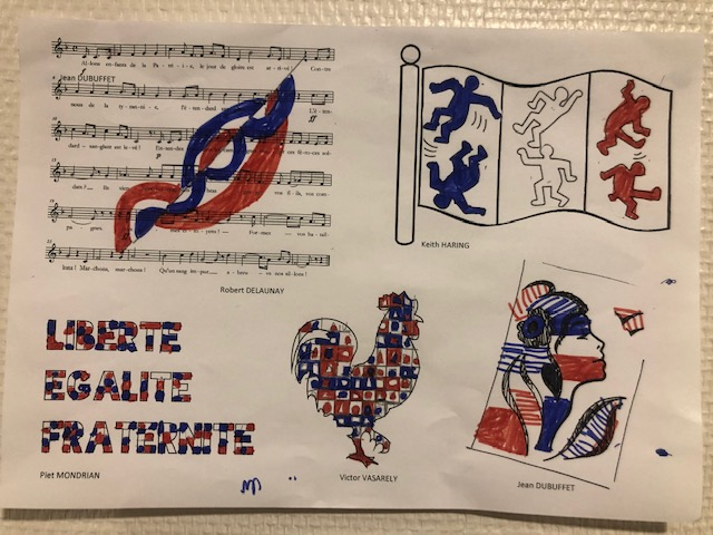 Les symboles de la République à la manière de ... 4